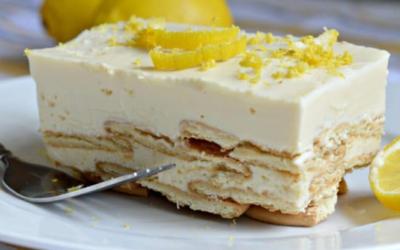 Postre helado de limón, Fácil y rapido de preparar