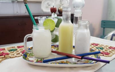Limonada de coco en 2 pasos