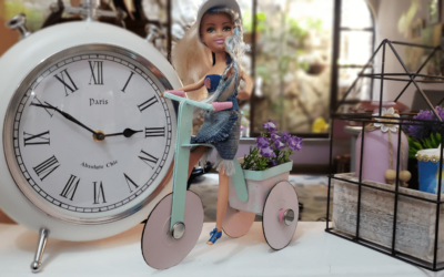 Desde hoy todas tus muñecas a montar en triciclo!!