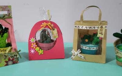 4 ideas maravillosas de envolver tus cactus para regalos