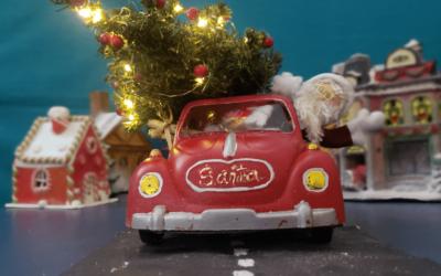 El cacharrito rojo de Santa ¡Moderniza tu decoración navideña!