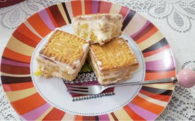 Helados de galletas con piña, ¡Receta fácil y deliciosa!