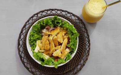 Deliciosa y económica ensalada primaveral en solo 5 pasos