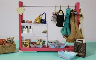 Ropero fácil y práctico, para las muñecas