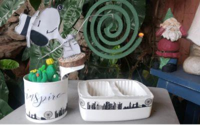 Cómo elaborar arte en alambre. Snoopy porta espirales